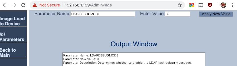AudioCodes AdminPage