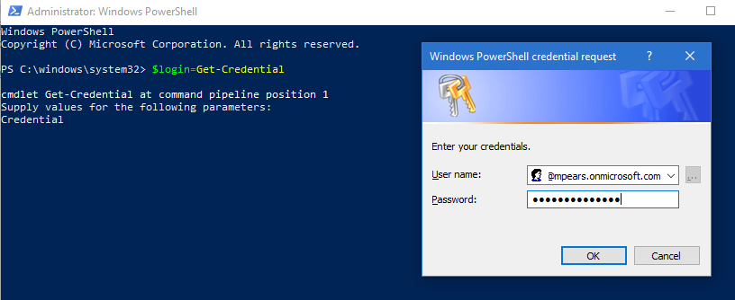 Connecting Powershell to Office 365 for Microsoft Teams